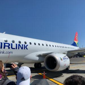 Boarding in JNB