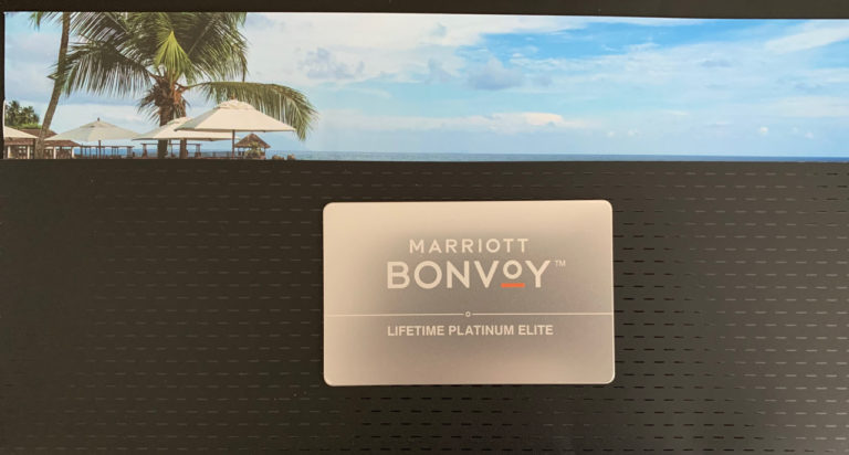 Marriott Lifetime Platinum Card