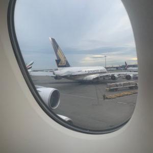 Singapore A380 @ JFK