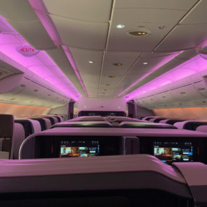 SQ A380 Business Class