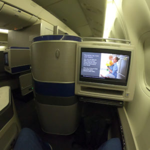 View from Seat 11L