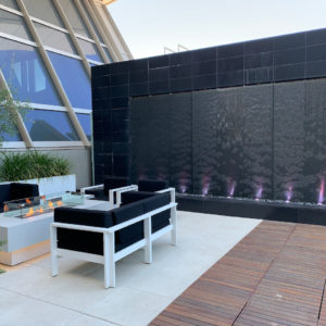Outdoor Patio @ LAX Lounge