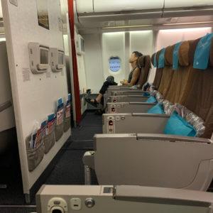 Extra Legroom Seats Row 21