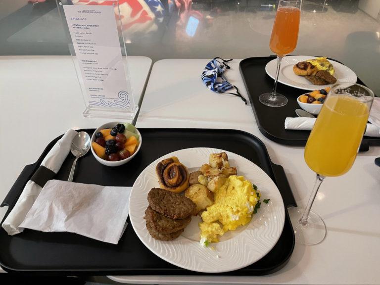 Breakfast @ AMEX Centurion Lounge